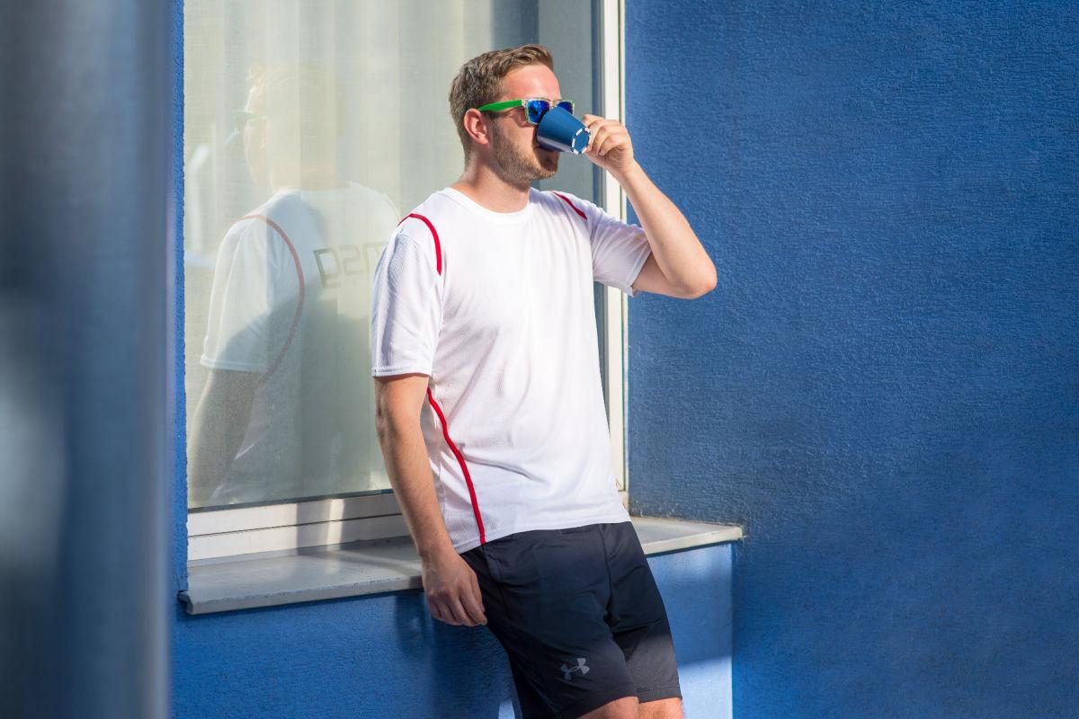 Michalovi na home office najviac chýba naša káva.