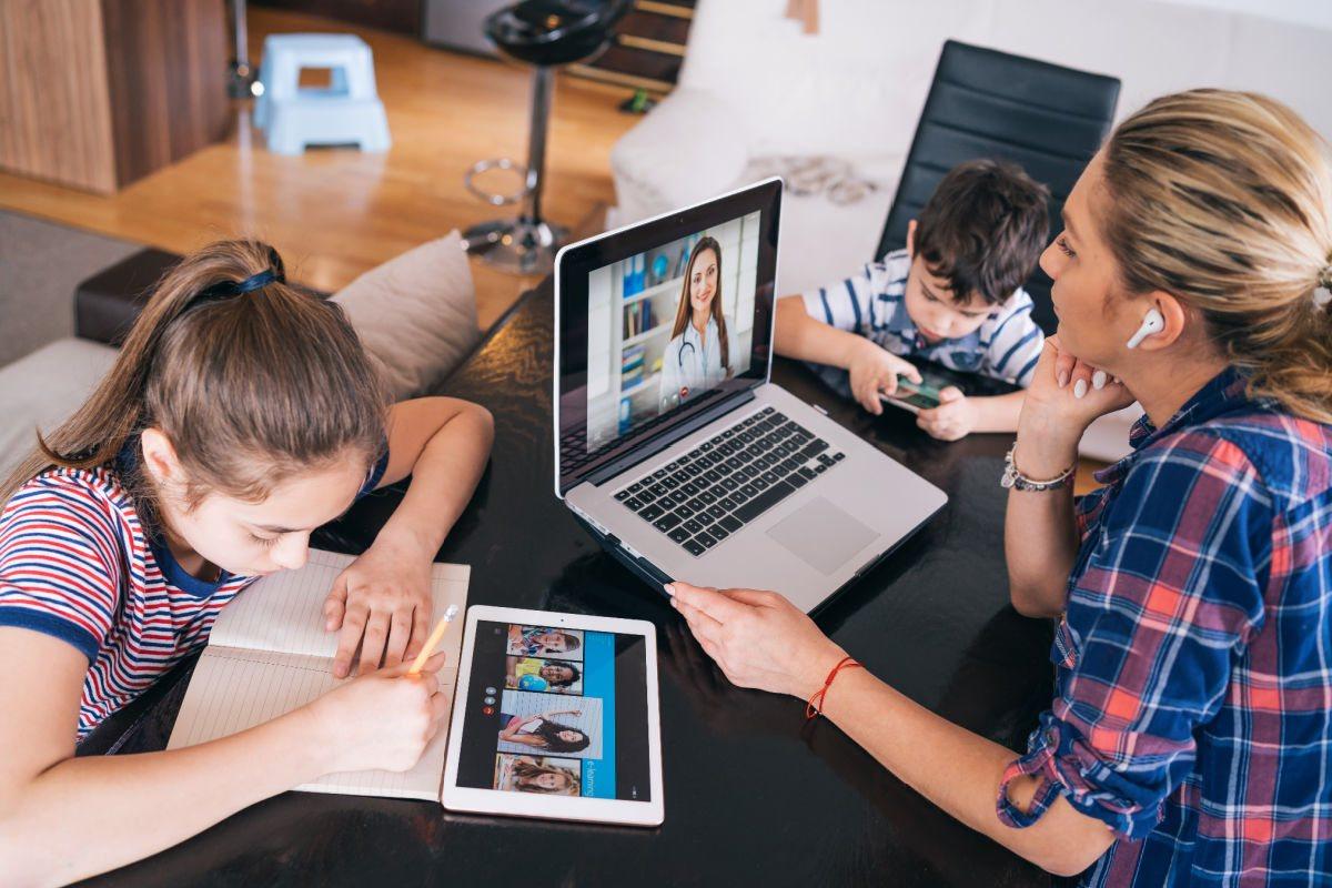 Práca na home office s deťmi