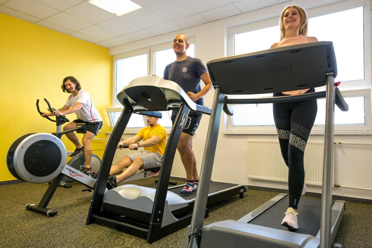 Vlastné fitness v office